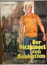 DER DSCHUNGEL VON MANHATTAN | Original Plakat EA 1958 | James Darren