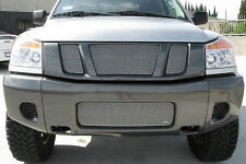 Grille-S GRILLCRAFT NIS1552S fits 2008 Nissan Titan