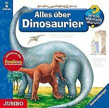 Wieso? Weshalb? Warum? Alles über Dinosaurier. CD | Buch | Zustand akzeptabel