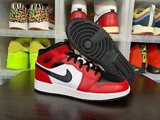 Jordan 1 Mid Gs Chicago Black Toe Sz 5.5Y 554725-069 Cactus Jack Off White Union