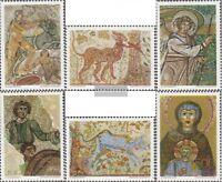 Jugoslawien 1369-1374 (kompl.Ausg.) postfrisch 1970 Mosaikkunst
