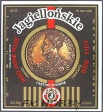 Poland Brewery Pokrówka Jagiellońskie Beer Label Bieretikett Cerveza pk20.1