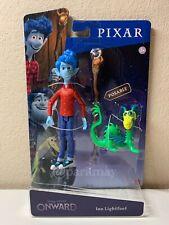 Disney Pixar *ONWARD* Movie Poseable IAN LIGHTFOOT Figure & Blazey Staff 2020