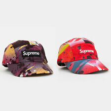 Supreme SS20 GORE-TEX Long Bill Camp Cap Rammellzee camo paint box logo tee