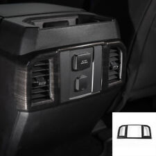 Black Wood Grain Rear Air Conditioning Outlet Vent Frame Cover For Ford F150 15+