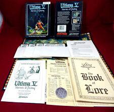Amiga: Ultima 5 V: Warriors of Destiny - Origin  / Microprose 1988
