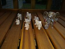 Collectable Glass Elephants