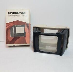 Vintage GAF Pana-vue 3 Foldable 2 X 2 Slide Viewer, No. 2575, 35mm, 828 Bantam