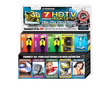 Xtreme Cable 7 Piece High Speed HDMI HDTV Hook Up Kit