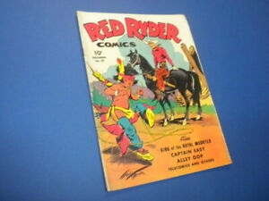 RED RYDER COMICS #29 Dell Comics 1945 western Fred Harman