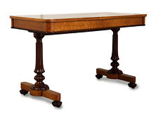 Walnut & Maple Library Table by Miles & Edwards