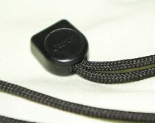 VINTAGE GENUINE ORIGINAL CANON COMPACT 35mm CAMERA NECK STRAP BLACK w/ film rewi