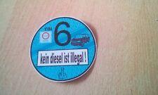 Autoaufkleber  Plakette kein Diesel ist illegal