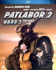 "Oshii Mamoru ""Patlabor : The Movie 2"" 1993 Japan Animatio Region  A Blu-Ray"