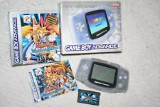 Nintendo Gameboy Advance Clear OVP +Neuwertiges OVP Yu-Gi-Oh Edition