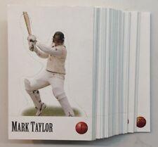 1996/97 SELECT Cricket .. Pop Ups .. Complete Set  No's 1-36