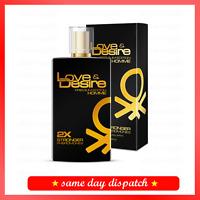 Seduce her with Love&Desire PREMIUM EDITION perfume PHEROMONES for MEN 100ml