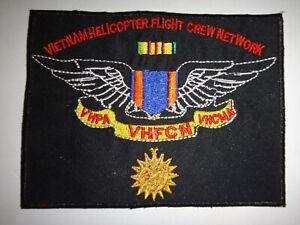 Vietnam Guerre Patch Vietnam Hélicoptère Vol Ras 'Network'