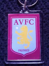 ASTON VILLA FC personalised keyring FREE DELIVERY