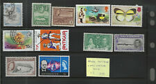 ADEN, ANTIGUA & ASCENSION...Mint & Used...Small group of 11 Different