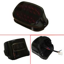 Red Lens LED Rear Tail Brake License Light For Harley Softail Sportster FXDL