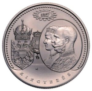 Hungary 2000 forint 2017 Austro-Hungarian Compromise of 1867 BU 52,5mm 76,5 g !