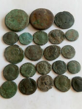 New Listing022.Lot of 22 Ancient Roman Bronze Coins,78.8gr