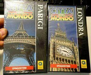 N° 2 VHS - CITTA' DEL MONDO - PARIGI / LONDRA - DeAGOSTINI