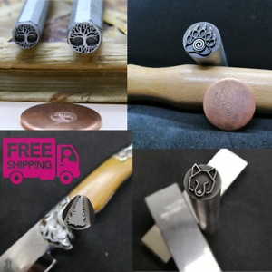 Custom hard metal Stamp-logo for copper,brass,aluminum,silver,gold /Jewelry Tool