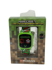Minecraft LED Touchscreen Wrist Watch for Boys