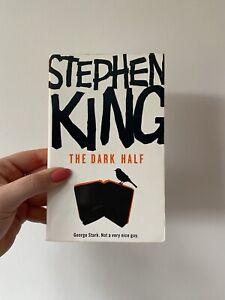 The Dark Half - Stephen King / Paperback **GC Rainbow Hodder 2007!!**