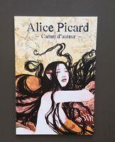 Carnet d'auteur. Alice Picard. Snorgleux 2009