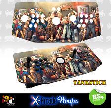 Street Fighter X Arcade Tankstick Overlay Graphic Sticker