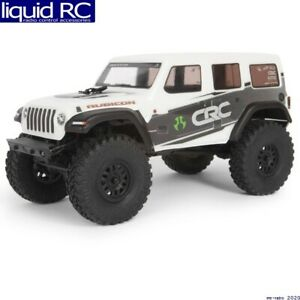 Axial Racing 00002T1 SCX24 2019 Jeep Wrangler JLU CRC 1/24 4WD-RTR WHT