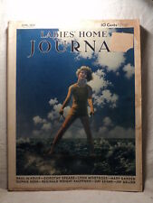 Ladies Home Journal June 1930 MAXFIELD PARRISH Waterskiing Magazine Coke Ad