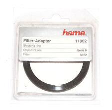 Hama serie 8/serie VIII anello adattatore Adaptor/PER FILTRO 62mm (Nuovo/Scatola Originale)