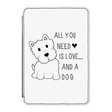 """Todo lo que necesitas es amor y un perro Funda Para Kindle 6"""" E-READER-Cachorro Gracioso"""