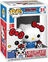 Hello Kitty 8 Bit 45th Anniversary Funko Pop Vinyl