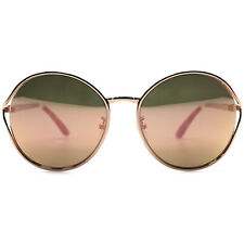 "NEW TOMS - Bronze/Rose Gold ""BLYTHE"" Round Sunglasses -SALE"