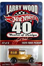 2010 Hot Wheels Larry Woods 40 yrs of Design #2 1929 Ford Pickup