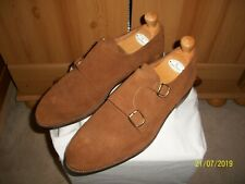 Vtg Edward Green for New & Lingwood Double Monk Strap Shoes – Sz 11 (Brown)