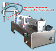pneumatic liquid filling machine 300ml for shampoo,oil,perfume with one tube