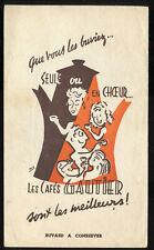 BUVARD café GAUTIER