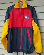 90s Tommy Hilfiger Colorblock Spellout Jacket Windbreaker Sailing M