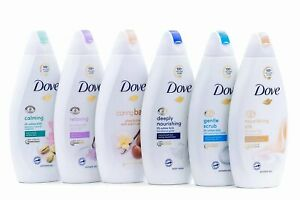 Dove Body Wash Variety 6 Pack 16.9 ounces - Flavors May Vary From Photo!