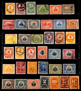 HAITI: CLASSIC ERA STAMP COLLECTION WITH SURCHARGES