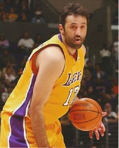 Vlade Divac--Los Angeles Lakers--8x10 Glossy Color Photo