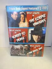 The Corpse Vanishes/Scared to Death/The Devil Bat - Bela Lugosi DVD **BRAND NEW*