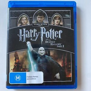 Harry Potter and the Deathly Hallows: Part 2 (Blu-ray) Australia Region B