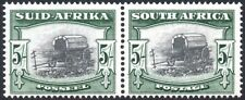 South Africa 1947-54 5s black & deep yellow-green, SG.122b, VFM, cat.£45